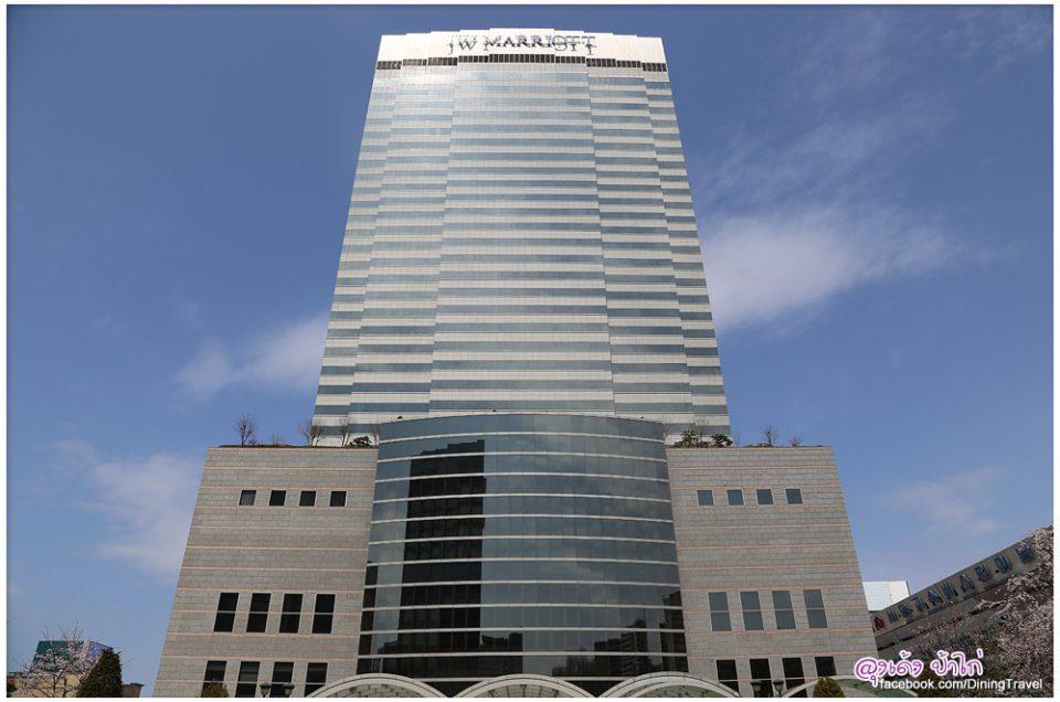 JW Marriott Hotel Seoul ห้องใหญ่ ติดรถไฟใต้ดิน อยู่ในห้าง Shinsegae