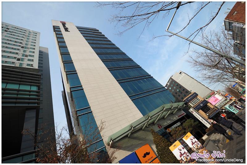 Tmark Hotel Myeongdong โรงแรมใหม่ ห้องใหญ่ เดิน 15 นาที ถึงเมียงดง