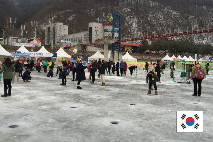 เที่ยวเกาหลี Hwacheon Ice Fishing (ม.ค. 61)