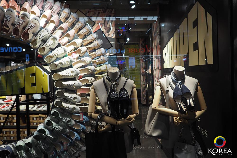 นัมโพดง Nampodong Shopping Streetถนนช้อปปิ้ง ปูซาน เกาหลีใต้