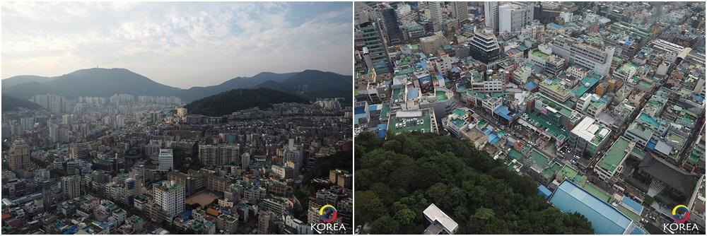 Busan Tower ปูซานทาวเวอร์ จุดชมวิว สัญลักษณ์แห่ง เมือง ปูซาน เกาหลีใต้