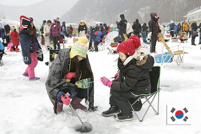 เที่ยวเกาหลี Pyeongchang Ice Fishing (28ธ.ค.60-8ก.พ.61)
