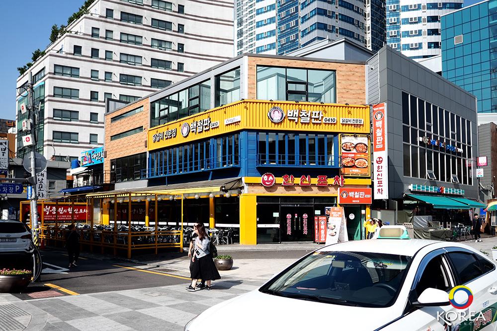 ทัคคาลบี้ Paik Chulpan สาขา Haeundae ปูซาน