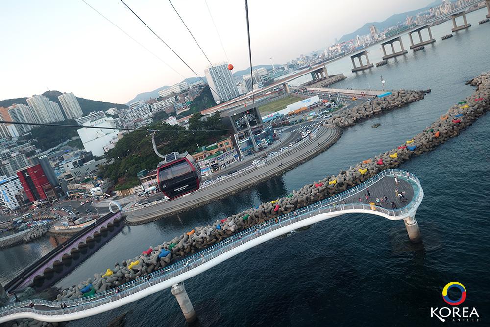 รีวิว กระเช้า Busan Air Cruise