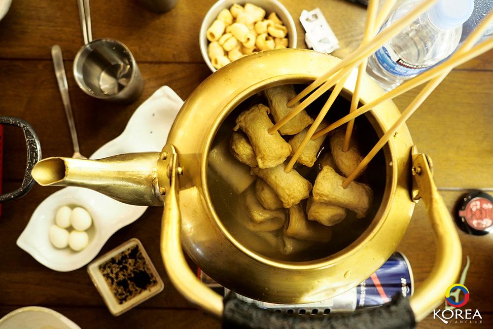 ซุปปลาแผ่นเกาหลี ออมุกกุก Korean Fish Cake Soup 어묵국 Eo Muk Guk