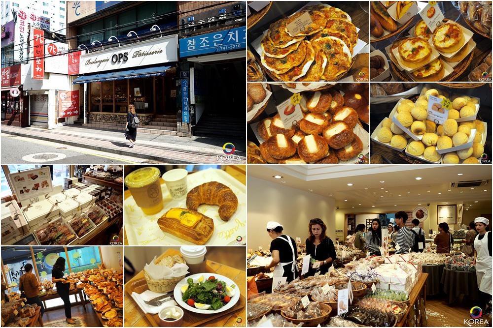 OPS สาขา Haeundae ( แฮอุนแด ) ร้านเบเกอรี่ชื่อดัง แห่งปูซาน