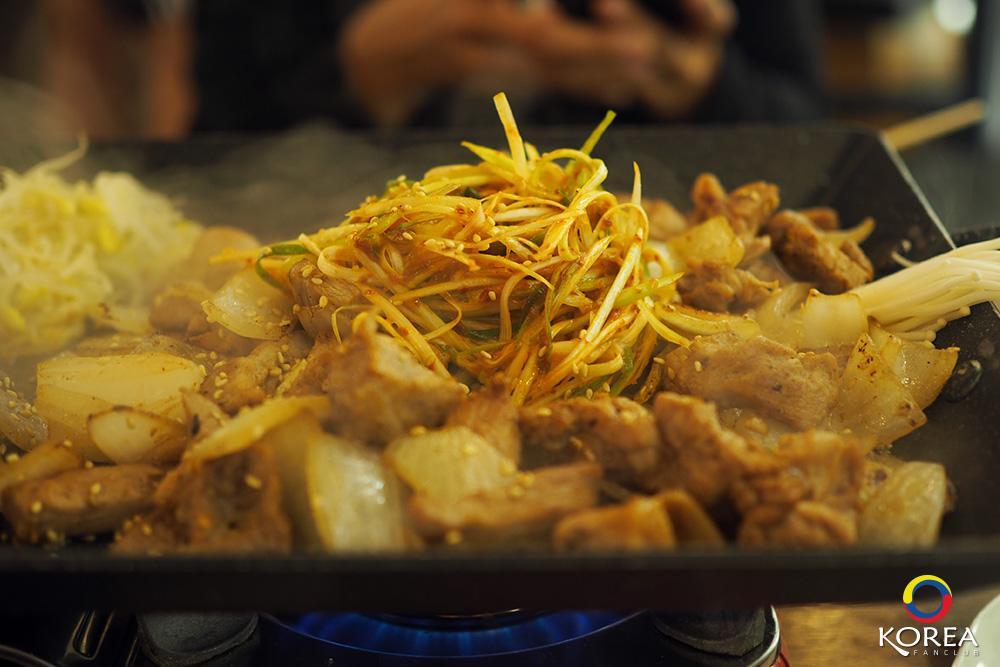หมูย่าง เกาหลี