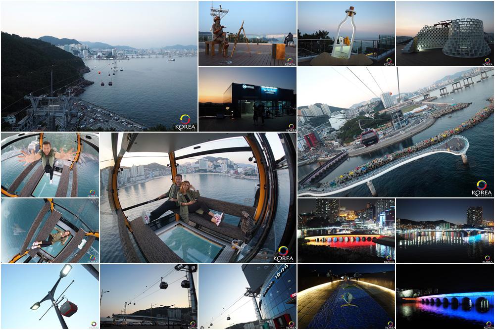 รีวิว กระเช้า Busan Air Cruise & Songdo Skywalk แห่ง ปูซาน