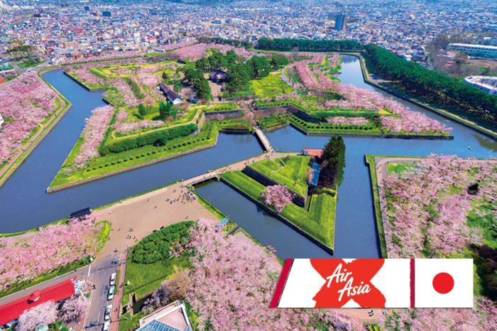 ทัวร์ญี่ปุ่น Hokkaido Hakodate ซากุระ 6D4N (เม.ย.-พ.ค.61)