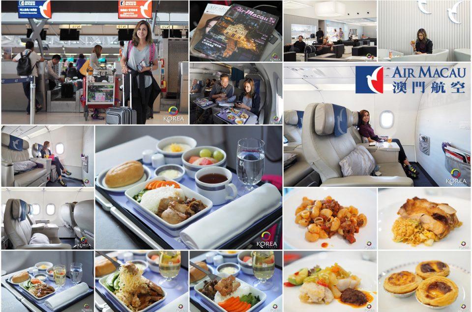 Air Macau บินหรู นั่งสบาย สุวรรณภูมิ - มาเก๊า - กรุงโซล